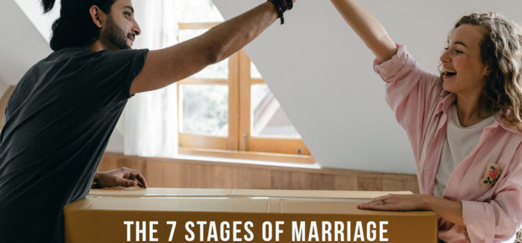 The 7 stages of marriage and how to find Ultimate Intimacy in each one!