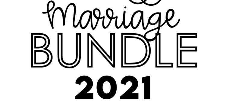 2021 Marriage Bundle